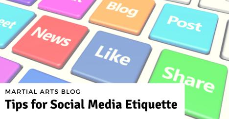 Tips for Social Media Etiquette